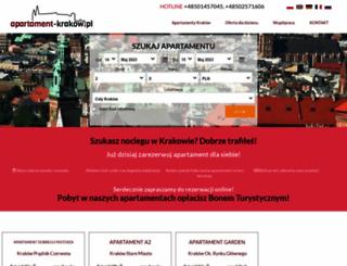 book.apartament-krakow.pl screenshot