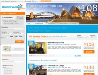book.discoveraustralia.com.au screenshot