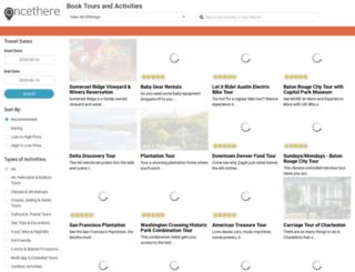 book.oncethere.com screenshot
