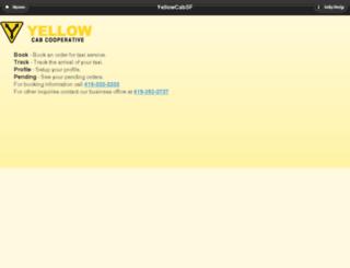 book.yellowcabsf.com screenshot