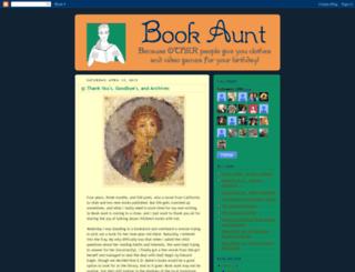 bookaunt.blogspot.ca screenshot