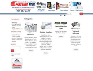bookbindingstore.corecommerce.com screenshot