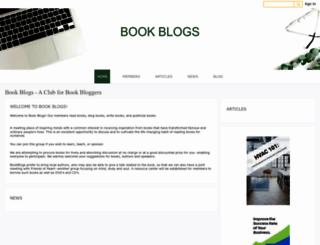 bookblogs.ning.com screenshot