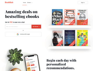 bookbub.com screenshot