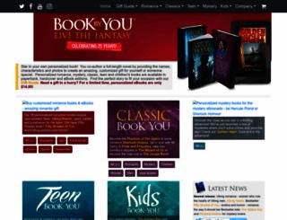 bookbyyou.com screenshot