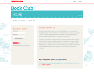 bookclub.scholastic.co.nz screenshot