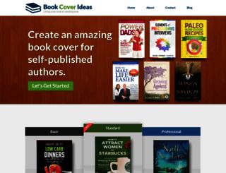bookcoverideas.com screenshot