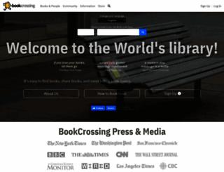 bookcrossing.com screenshot