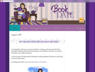 bookdate.blogspot.co.nz screenshot
