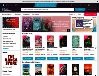 bookdepository.co.uk screenshot