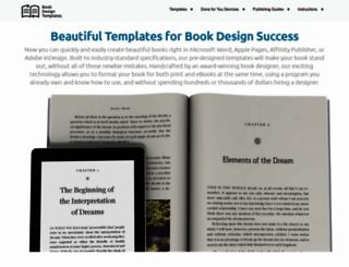 bookdesigntemplates.com screenshot