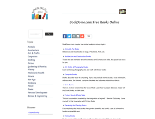 bookdome.com screenshot
