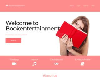 bookentertainment.net screenshot