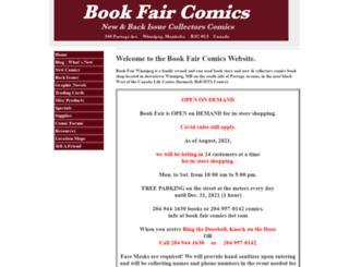 bookfaircomics.com screenshot