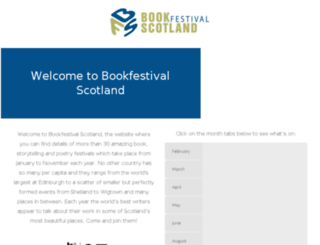 bookfestivalscotland.com screenshot