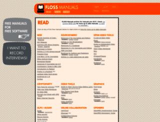 booki.flossmanuals.net screenshot