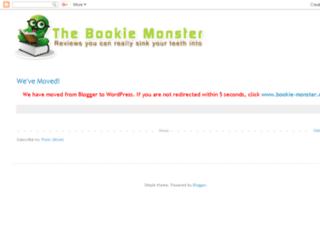bookie-monster.com screenshot