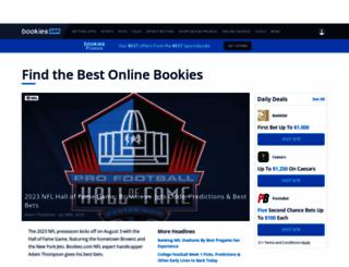 bookies.com screenshot