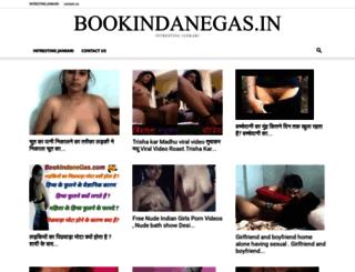 bookindanegas.in screenshot