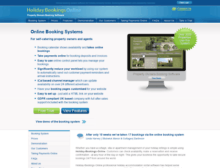 booking-system.net screenshot