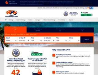 booking.aph.com screenshot