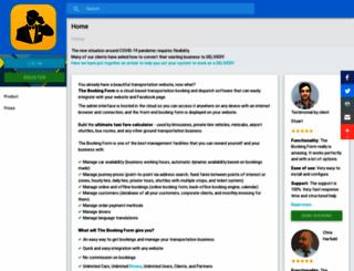 booking.drivenot.com screenshot