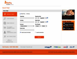 booking.fireflyz.com.my screenshot