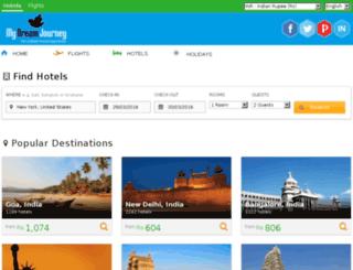 booking.mydreamjourney.com screenshot