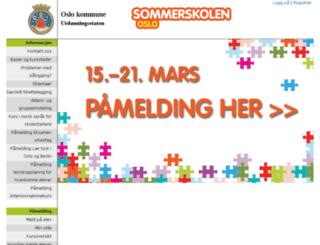 booking.osloskolen.no screenshot