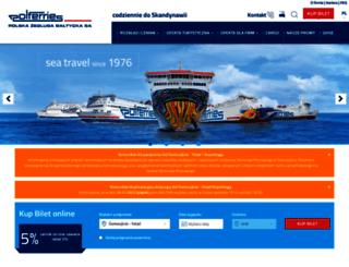 booking.polferries.pl screenshot