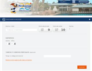 booking.portaventura.com screenshot