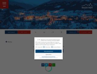 booking.radstadt.com screenshot