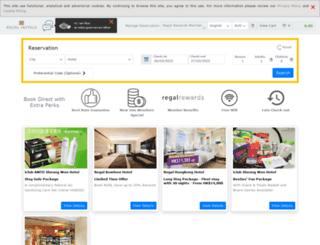 booking.regalhotel.com screenshot