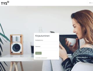booking.tys.fi screenshot