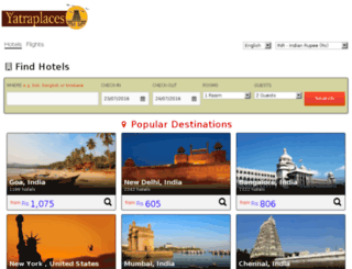 booking.yatraplaces.com screenshot