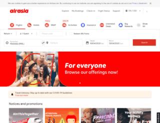 booking2.airasia.com screenshot