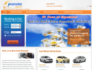 bookingcar.ro screenshot