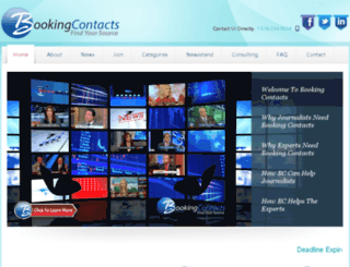bookingcontacts.com screenshot