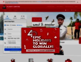 bookings.flightcentre.com.au screenshot