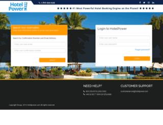 bookings.hotelpower.com screenshot