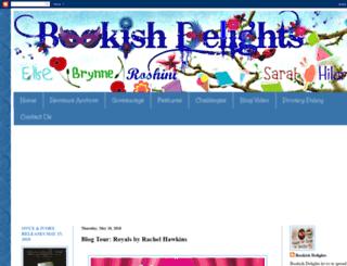 bookish-delights.blogspot.com screenshot