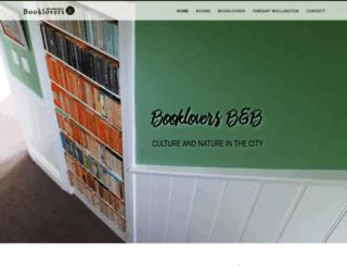 booklovers.co.nz screenshot