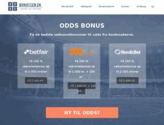 bookmaker-bonus.dk screenshot