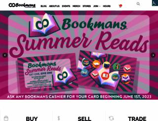 bookmans.com screenshot