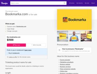 bookmarka.com screenshot