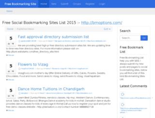 bookmarkbeta.asia screenshot