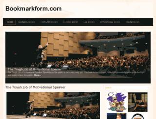 bookmarkform.com screenshot