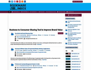 bookmarkinbox.info screenshot