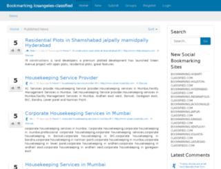 bookmarking.losangeles-classified.com screenshot