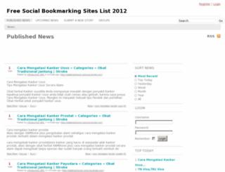 bookmarkingcycle.info screenshot